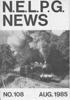 NELPG News 108, August 1985