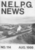 NELPG News 114, August 1986