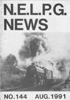 NELPG News 144, August 1991