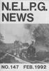 NELPG News 147, February 1992