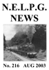 NELPG News 216, August 2003