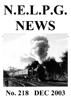 NELPG News 218, December 2003