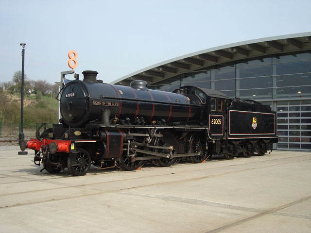 K1 on display outside Locomotion 24th April - Richard Pearson