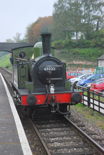 J72 arrives light engine at Rothley - Ian Willett