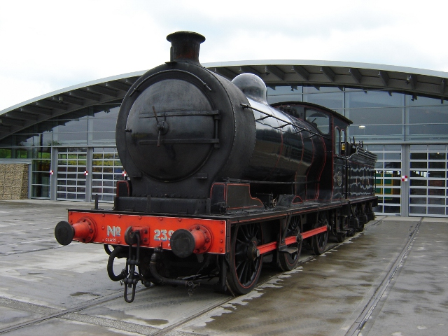 J27 Class locomotive 65894 (NER P3 2392) at   Locomotion: the National Railway Museum at Shildon in 2005 - Pam Porter