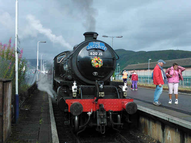Awaiting Departure at Fort William - John Hall
