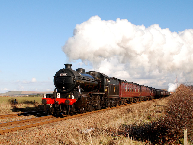 K4 heads the train away from Saltburn - Dave Pearson