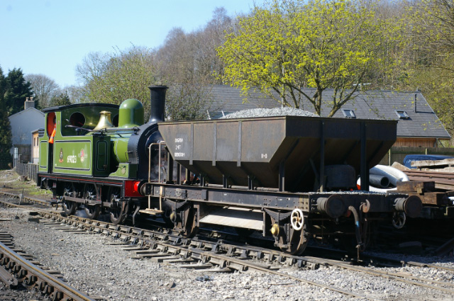 J72 with stone wagon - Chris Lawson