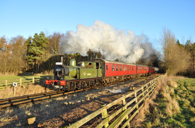 14:00 departure between Bedale and Crakehall - David Warren