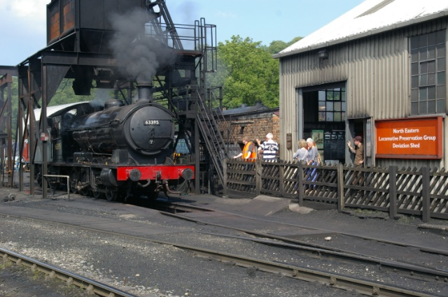 Q6 being admired by visitors at Deviation Shed - Chris Lawson