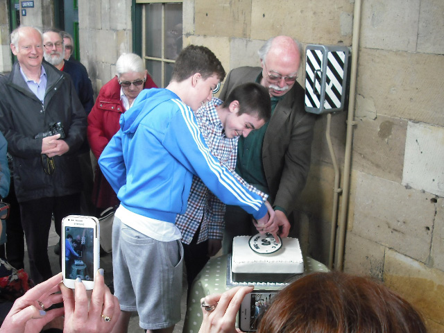 The cake is cut - John Midcalf