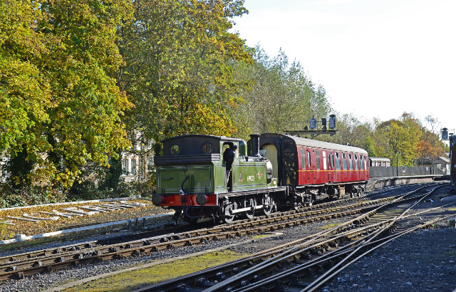 J72 shunting coaches at Pickering - John Hunt