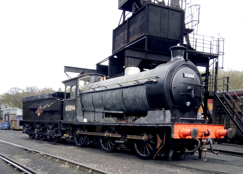 J27 at Grosmont ready for final painting by John Furness 2 May 2018 - Roy Marshall