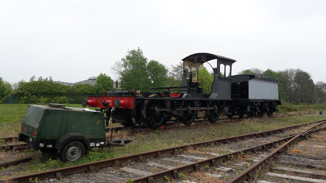 The J27 and tender on the running line  - Nigel Hall