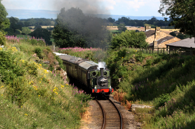 The tea train at Harmby - Maurice Burns