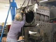 lifting the cylinder block
