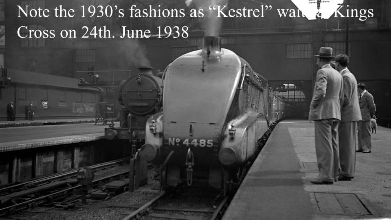 A4 4485 Kestrel at Kings Cross