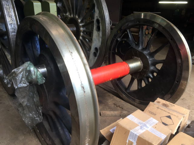 Another complete wheelset at South Devon Railway - Mark O Brien