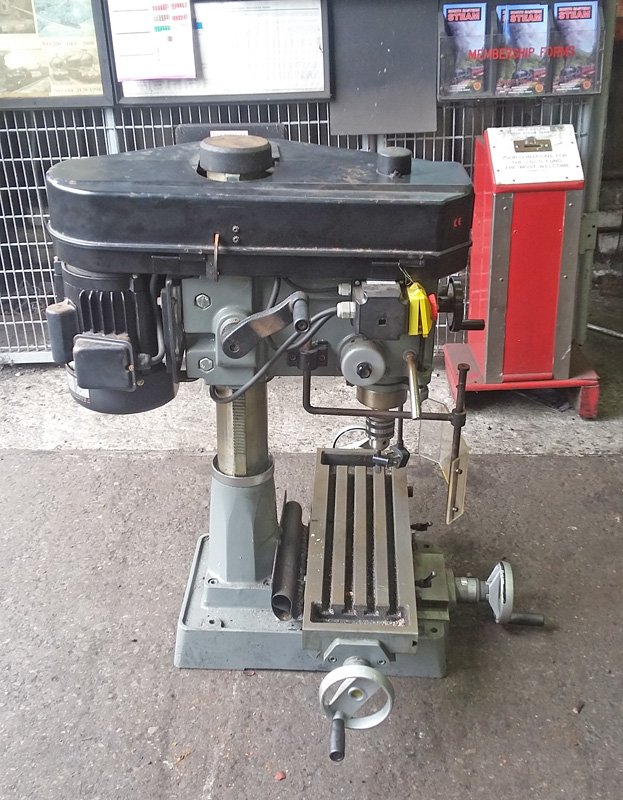 New milling and drilling machine for Deviation Shed from Sean Bowler - Ian Pearson