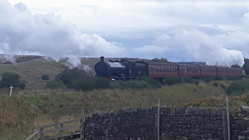Q6 on the rear of the 1430 NYMR service train from Grosmont passing Moorgates - Jon Bradley