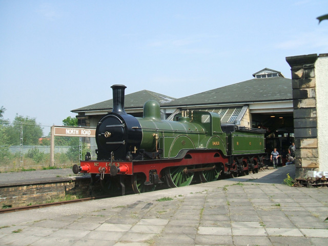 North Road Station  Museum - now renamed Head of Steam